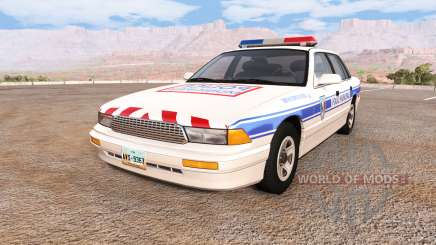 Gavril Grand Marshall police municipale pour BeamNG Drive