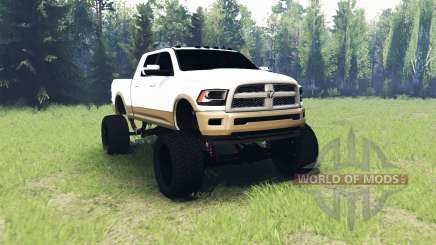 Dodge Ram 2500 Laramie Longhorn pour Spin Tires