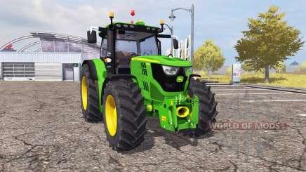 John Deere 6150R v2.0 pour Farming Simulator 2013