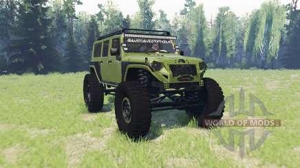 Jeep Wrangler Rubicon für Spin Tires