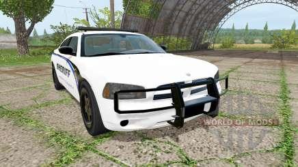 Dodge Charger Sheriff pour Farming Simulator 2017