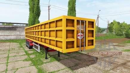BsM tipper semitrailer für Farming Simulator 2017