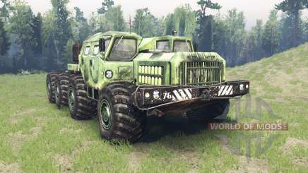 MAZ 7310 alligator pour Spin Tires