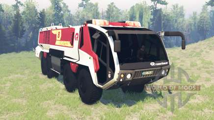 Rosenbauer Panther 8x8 CA7 v0.8 pour Spin Tires