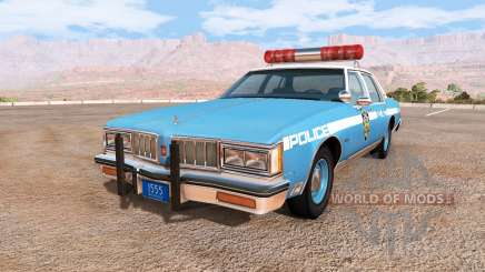 Oldsmobile Delta 88 cop pack pour BeamNG Drive