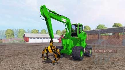 Liebherr A900C passion paysage logging für Farming Simulator 2015