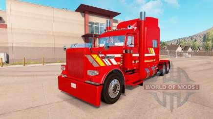 Haut Custom Heavy Haul für den truck-Peterbilt 389 für American Truck Simulator