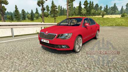 Skoda Superb pour Euro Truck Simulator 2
