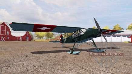 Fieseler Fi 156 Storch für Farming Simulator 2013