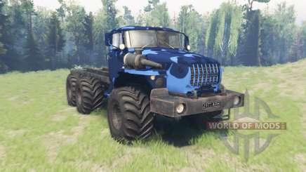 Farbe Winter camo Ural 4320-10 für Spin Tires