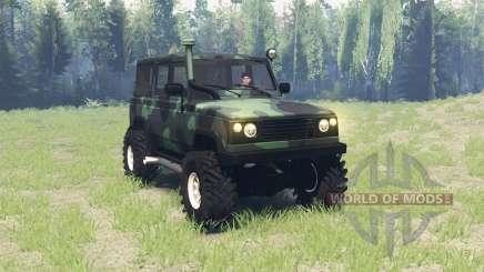 UAZ 3172 Espion v3.0 pour Spin Tires