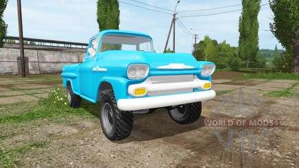 Chevrolet Apache 1958 für Farming Simulator 2017