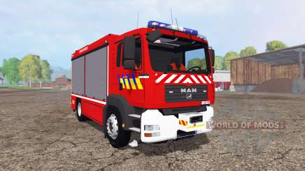 MAN TGA 28.430 Fire Rescue pour Farming Simulator 2015