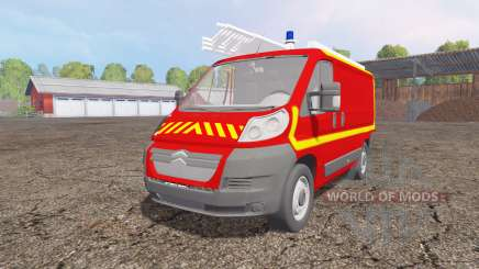 Citroen Jumper VTU pour Farming Simulator 2015