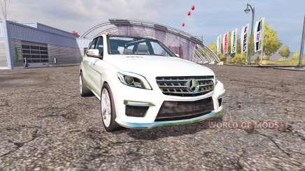 Mercedes-Benz ML 63 AMG (W166) v1.1 pour Farming Simulator 2013