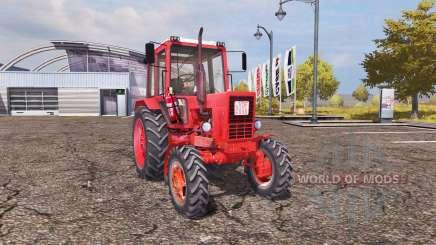 Belarus MTZ-82 v1.1 für Farming Simulator 2013
