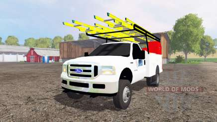 Ford F-250 2005 utility pour Farming Simulator 2015