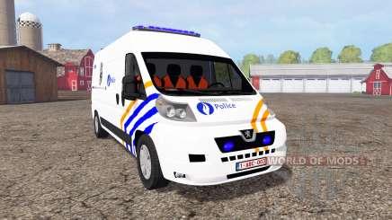 Peugeot Boxer Police pour Farming Simulator 2015