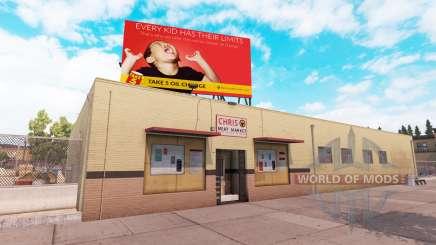 Real billboards v2.0 pour American Truck Simulator