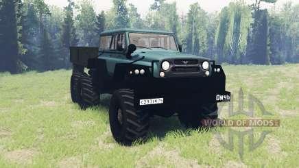 UAZ Jeu 6x6 pour Spin Tires