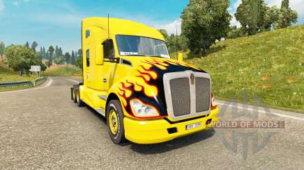 Kenworth T680 v1.4 pour Euro Truck Simulator 2