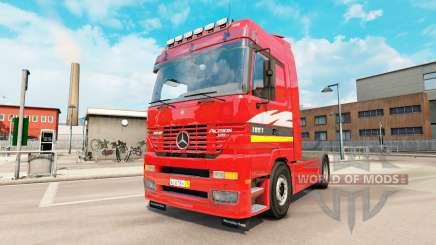 Mercedes-Benz Actros MP1 v2.5 für Euro Truck Simulator 2