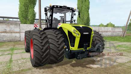 CLAAS Xerion 5000 v1.1.7 pour Farming Simulator 2017