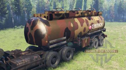 Farbe Desert camo auf dem tank für Spin Tires