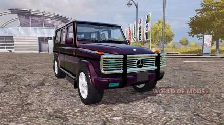 Mercedes-Benz G500 (W463) für Farming Simulator 2013