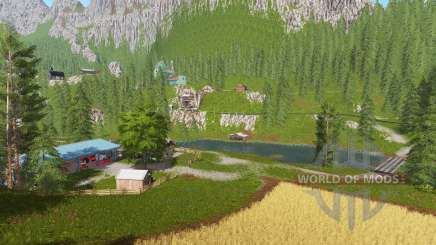 Goldcrest mountains v2.5 für Farming Simulator 2017