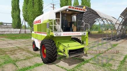 CLAAS Dominator 118 SL für Farming Simulator 2017