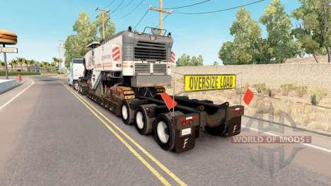 Fontaine Magnitude 55L Wirtgen pour American Truck Simulator