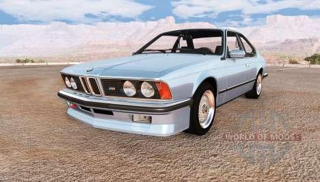 BMW M635 CSi (E24) pour BeamNG Drive