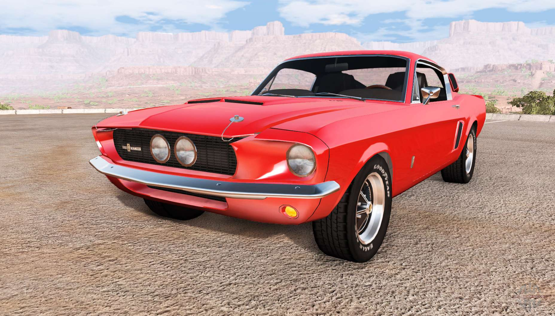 ford mustang shelby gt500 pour beamng drive. Black Bedroom Furniture Sets. Home Design Ideas