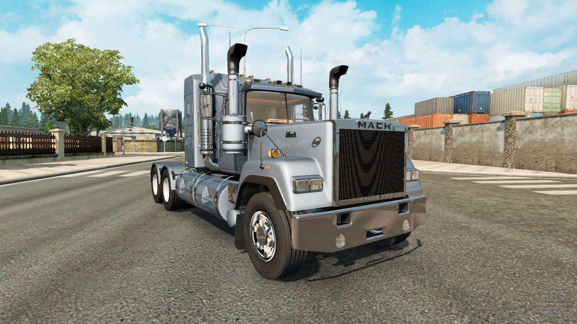 mack super liner v1 1 pour euro truck simulator 2. Black Bedroom Furniture Sets. Home Design Ideas
