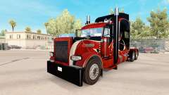 Holz-skin für den truck-Peterbilt 389