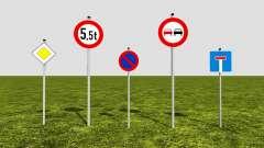 Road signs für Farming Simulator 2017