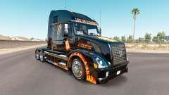 La peau Jackpot sur le tracteur Volvo VNL 670