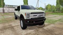 Ford F-350 Super Duty King Ranch Crew Cab für Farming Simulator 2017