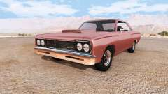 Plymouth Road Runner v1.1 für BeamNG Drive