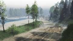 La poussière des routes pour Spin Tires