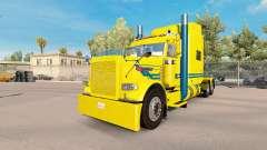 Blue streak skin für den truck-Peterbilt 389