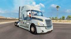 La peau Werner, le tracteur Freightliner Cascadi