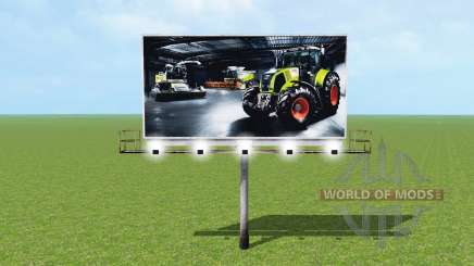 Billboard für Farming Simulator 2015