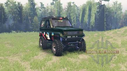 Toyota Land Cruiser 70 pour Spin Tires