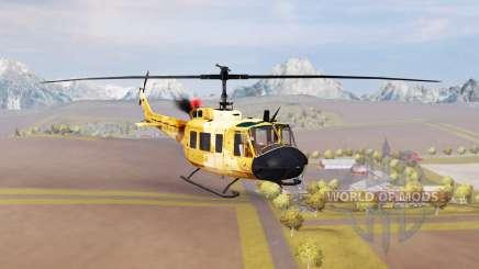 Bell UH-1D agrar v2.0 für Farming Simulator 2013