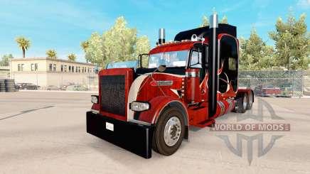 Bois de la peau pour le camion Peterbilt 389 pour American Truck Simulator