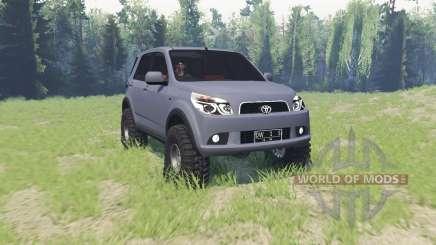 Toyota Rush für Spin Tires