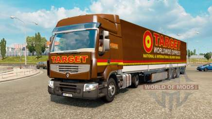 Painted truck traffic pack v2.2.2 pour Euro Truck Simulator 2