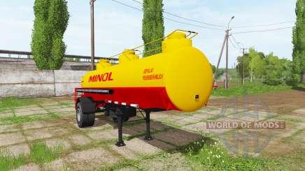 Fuel tank semitrailer für Farming Simulator 2017
